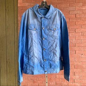 DKNY Jeans Blue Jacket Sz. XL